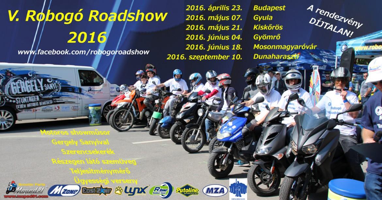 Robogó Roadshow 2016